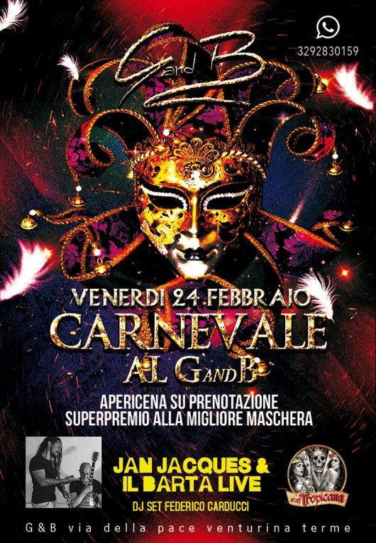 Carnevale al G&B