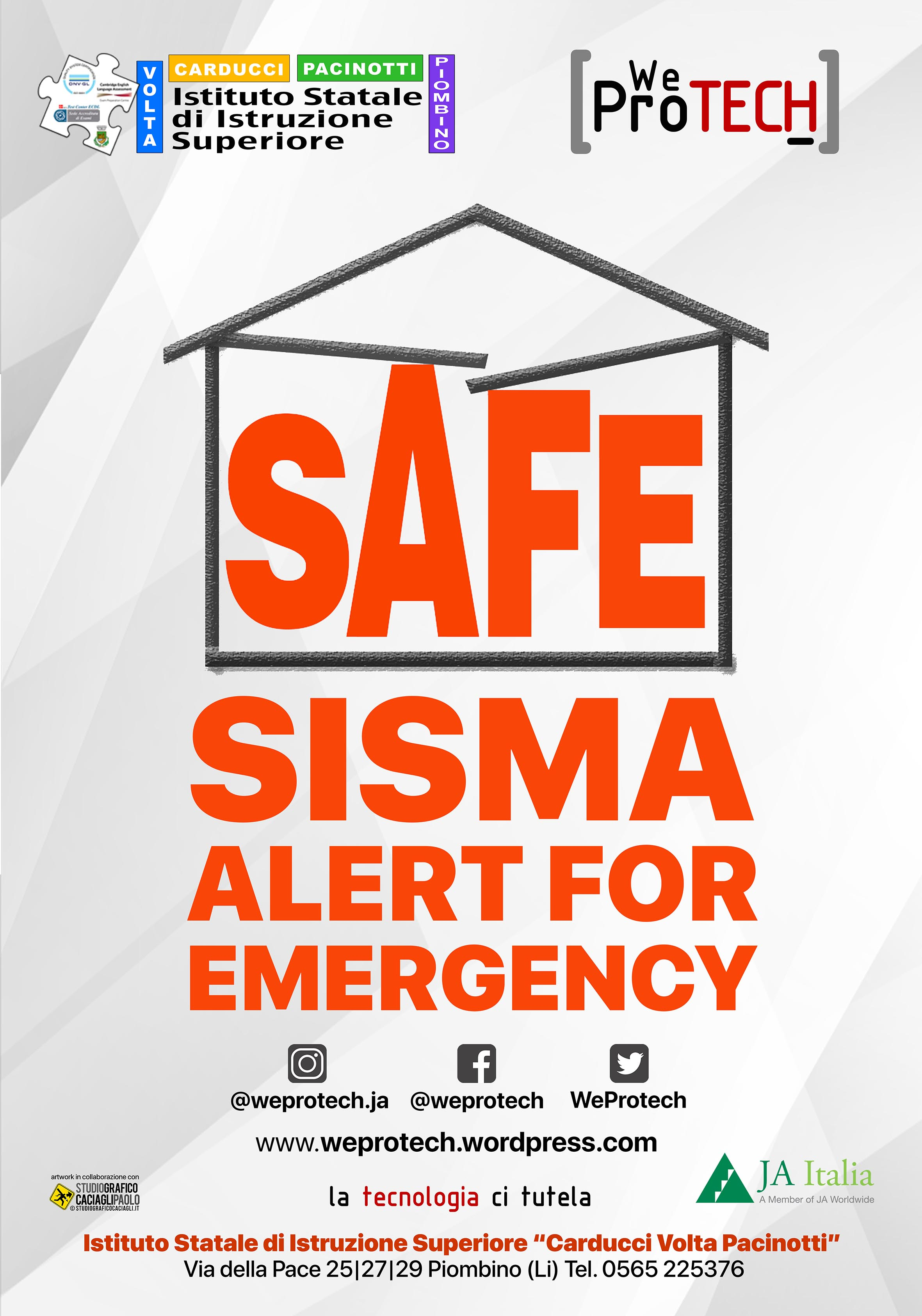 Progetto S.A.F.E. Sisma Alert For Emergency