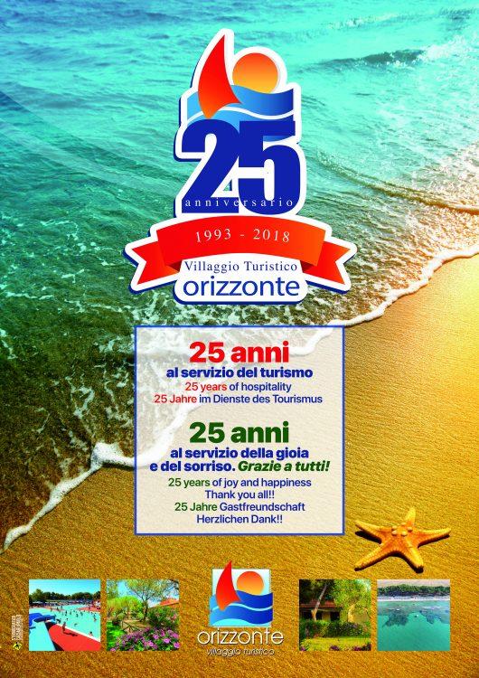 Camping Orizzonte 25° Anniversario